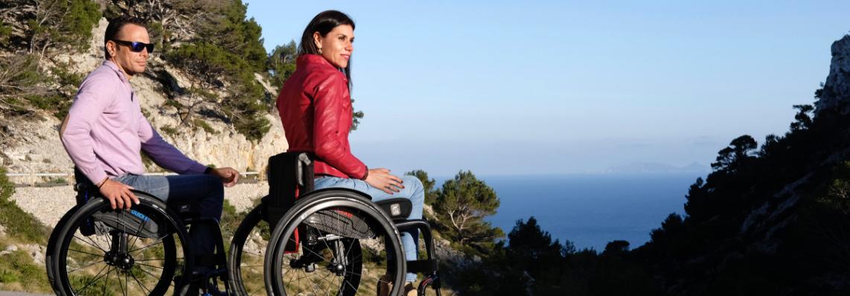 Sillas de ruedas deportivas ligeras en Barcelona